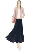 バッグを持ち歩く女性 02675000042| 写真素材・ストックフォト・画像・イラスト素材|アマナイメージズ
