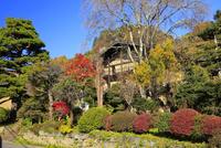 六合赤岩の街並み 湯本家住宅 02677002628| 写真素材・ストックフォト・画像・イラスト素材|アマナイメージズ