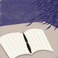 嵐の日の日記
