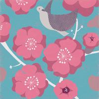 梅と鳥 02679000023| 写真素材・ストックフォト・画像・イラスト素材|アマナイメージズ