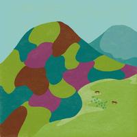 山々の彩り