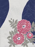 牡丹の花と蜘蛛の糸 02679000114| 写真素材・ストックフォト・画像・イラスト素材|アマナイメージズ