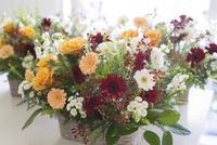 花アレンジ 02684001468| 写真素材・ストックフォト・画像・イラスト素材|アマナイメージズ