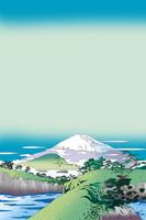 入り江の富士 02694000008| 写真素材・ストックフォト・画像・イラスト素材|アマナイメージズ