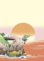 日之出の富士 02694000018| 写真素材・ストックフォト・画像・イラスト素材|アマナイメージズ