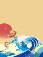 鯛踊る浪裏