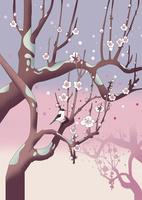 春を告げる梅林