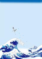浪裏の鯱 02694000106| 写真素材・ストックフォト・画像・イラスト素材|アマナイメージズ