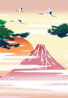 日の出の赤富士