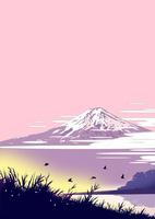 朝の富士 02694000144| 写真素材・ストックフォト・画像・イラスト素材|アマナイメージズ