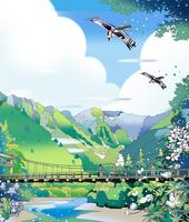 河童橋 02694000231| 写真素材・ストックフォト・画像・イラスト素材|アマナイメージズ