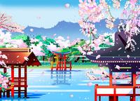 厳島神社 02694000245| 写真素材・ストックフォト・画像・イラスト素材|アマナイメージズ
