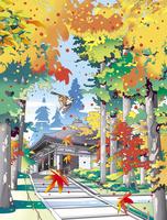 金色堂 02694000247| 写真素材・ストックフォト・画像・イラスト素材|アマナイメージズ