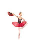 バレエ「ドン・キホーテ」キトリを踊る女性 02697000049| 写真素材・ストックフォト・画像・イラスト素材|アマナイメージズ