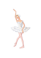 バレエ「白鳥の湖」オデットを踊る女性 02697000051| 写真素材・ストックフォト・画像・イラスト素材|アマナイメージズ