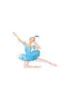 バレエ「眠りの森の美女」フロリナ姫を踊る少女 02697000056| 写真素材・ストックフォト・画像・イラスト素材|アマナイメージズ