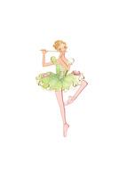 バレエ「くるみ割り人形」葦笛を踊る女性 02697000058| 写真素材・ストックフォト・画像・イラスト素材|アマナイメージズ