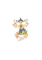 バレエ「くるみ割り人形」お茶の精を踊る女性 02697000060| 写真素材・ストックフォト・画像・イラスト素材|アマナイメージズ