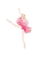 バレエ「眠りの森の美女」オーロラ姫を踊る女性 02697000061| 写真素材・ストックフォト・画像・イラスト素材|アマナイメージズ