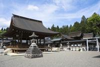 苗村神社西本殿と境内