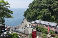 竹生島港全景 02698000248  写真素材・ストックフォト・画像・イラスト素材 アマナイメージズ