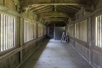 宝厳寺から竹生島神社へ続く舟廊下(渡廊)