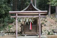 篠原神社本殿 02698000281  写真素材・ストックフォト・画像・イラスト素材 アマナイメージズ
