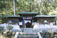 小野神社,しとぎ祭の献上品と本殿 02698000294  写真素材・ストックフォト・画像・イラスト素材 アマナイメージズ