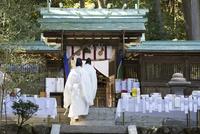 小野神社,しとぎ祭 02698000295  写真素材・ストックフォト・画像・イラスト素材 アマナイメージズ
