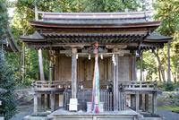 天皇神社本殿 02698000297  写真素材・ストックフォト・画像・イラスト素材 アマナイメージズ