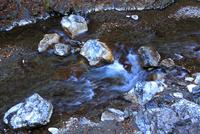 中津川と石灰岩