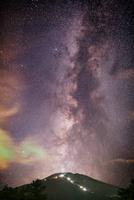 銀河大火山富士山 02702000013| 写真素材・ストックフォト・画像・イラスト素材|アマナイメージズ