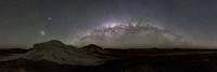ブレイクアウェイズ自然保護公園で撮影した天の川のアーチとマゼラン星雲