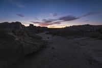 日没後のムンゴ国立公園 (Mungo National Park)