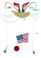 日本とアメリカの関係を考えるビジネスマン達