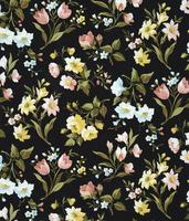 花柄テキスタイルデザイン,図柄 02724000038| 写真素材・ストックフォト・画像・イラスト素材|アマナイメージズ