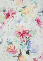 花柄テキスタイルデザイン,図柄 02724000057| 写真素材・ストックフォト・画像・イラスト素材|アマナイメージズ