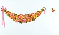 花柄テキスタイルデザイン,図柄 02724000118| 写真素材・ストックフォト・画像・イラスト素材|アマナイメージズ
