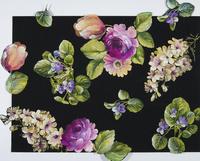 花柄テキスタイルデザイン,図柄 02724000123  写真素材・ストックフォト・画像・イラスト素材 アマナイメージズ