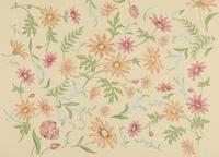 花柄のテキスタイル 02724000309| 写真素材・ストックフォト・画像・イラスト素材|アマナイメージズ