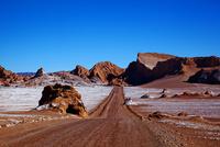 アタカマ砂漠,月の谷への道