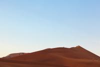 ナミビアの赤い砂漠