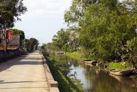 ベトナム、ファッジエム教会近郊の風景