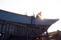 モロッコ エッサウィラの船大工