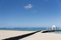 ビーチと桟橋