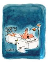 ベッドに寝そべる女性 02736000020| 写真素材・ストックフォト・画像・イラスト素材|アマナイメージズ