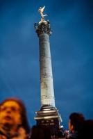 2012年フランス大統領選挙バスティーユ広場 02738000383| 写真素材・ストックフォト・画像・イラスト素材|アマナイメージズ