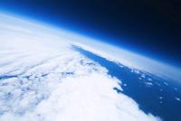 成層圏中層部から見た地球と宇宙 バルーンによる空撮 風船宇宙撮影 02740000008| 写真素材・ストックフォト・画像・イラスト素材|アマナイメージズ