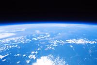 高高度気球から撮影した地球と宇宙の境界 風船宇宙撮影 02740000039| 写真素材・ストックフォト・画像・イラスト素材|アマナイメージズ