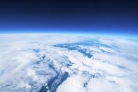 青い星地球 高高度気球による宇宙と地球撮影 ふうせん宇宙撮影 02740000041| 写真素材・ストックフォト・画像・イラスト素材|アマナイメージズ